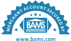 Merchant Account Security BAMS seal