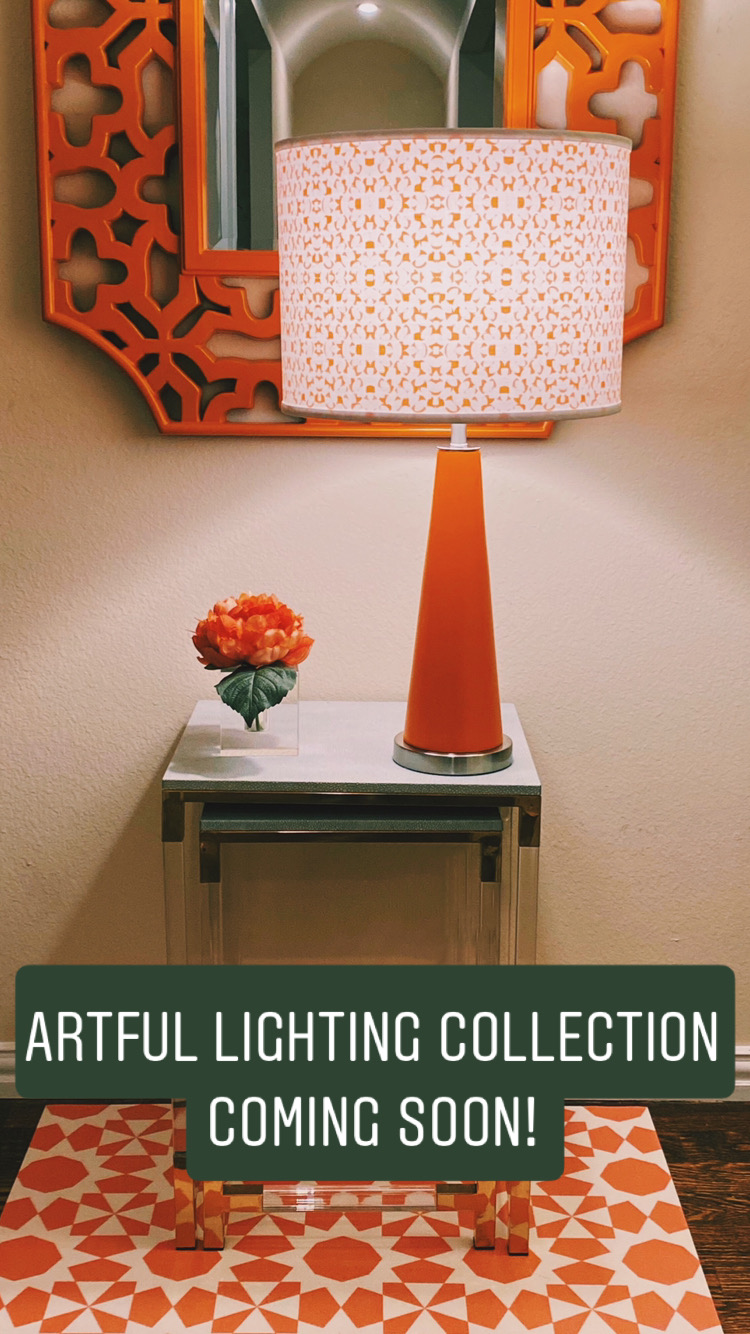 Artful ilghting collection coming soon